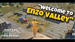 King of Echo Ep. 2: Youtuber vs Youtuber| Enzo Valley [Rules of Survival #55] (Tagalog)