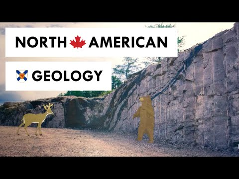 The Geology of North America