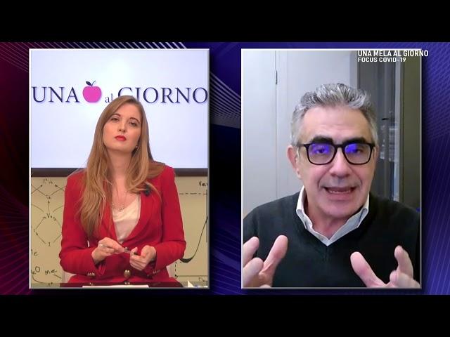Una Mela al Giorno: Focus sul Covid 19 con Fabrizio Pregliasco