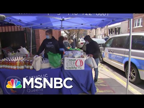 How Catholic Charities Brooklyn, Queens Are Assisting Families In Need | Craig Melvin | MSNBC