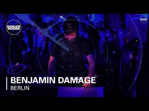 Benjamin Damage Boiler Room x Generator Berlin Live Set