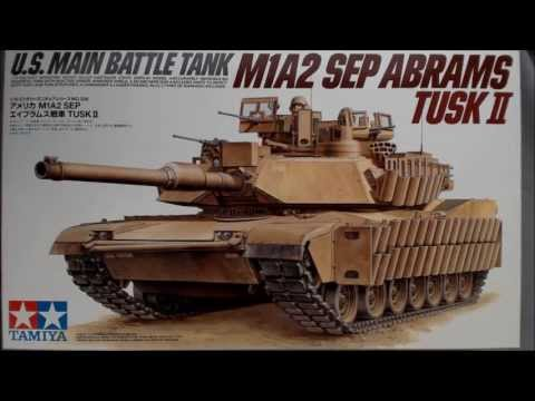 Unboxing the Tamiya M1A2 SEP Abrams Tusk II