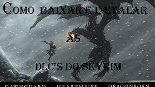 Como baixar e instalar as 3 Dlc's do Skyrim (Xbox 360)