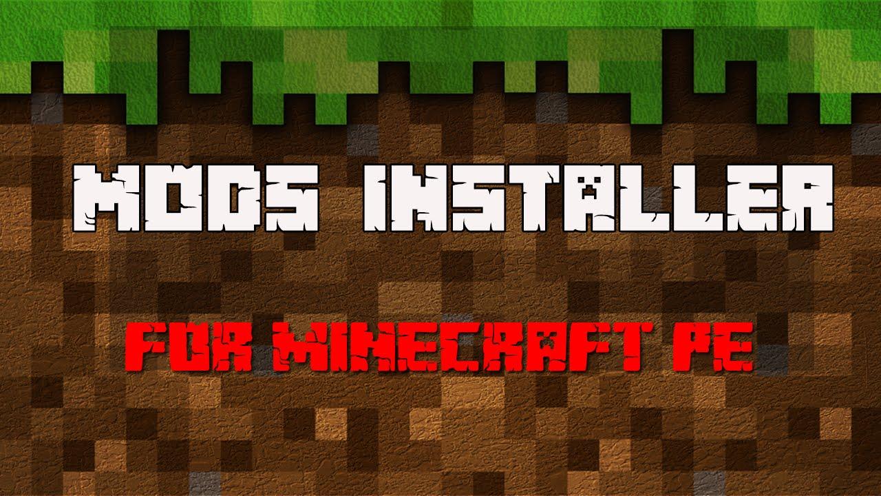 minecraft mod installer pe