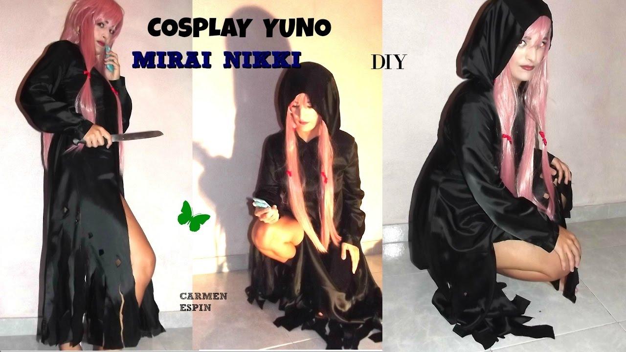 Dress up yuno gasai - Disfraz De Yuno Gasai Cosplay Mirai Nikki Diy