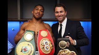 ANTHONY JOSHUA : AN ALTERNATIVE VIEWPOINT ON THE UNIFIED HEAVYWEIGHT CHAMPION