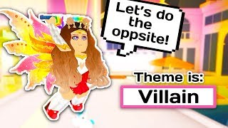 I MADE OPPOSITE OUTFITS AND WON! 👗 // Roblox Fashion Famous // Roblox Funny Moments