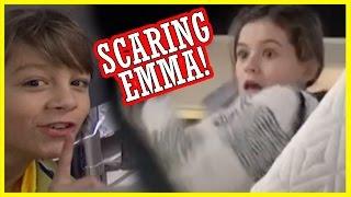 SCARING EMMA!  |  KITTIESMAMA