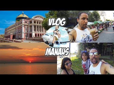 Conheça Manaus! Travel VLOG | City Tour [Dicas de Viagem] atrações turísticas, Ponta Negra, CIGS