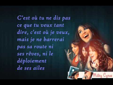 Miley Cyrus - Get ready, get set, don't go - Traduction