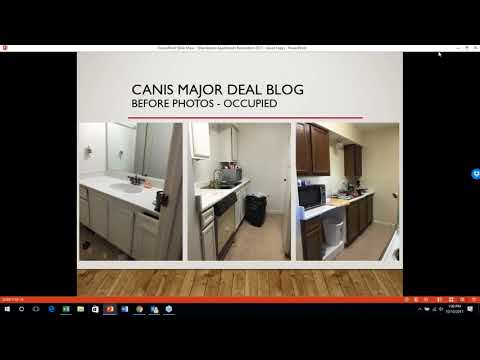 Case Study – Henderson Ranch Apartments buying multifamily homes for investment