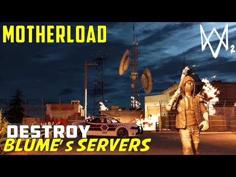 Unlock Blume's Vault Door | Destroy Backup Servers & Main Generators | Motherload | Watch Dogs 2