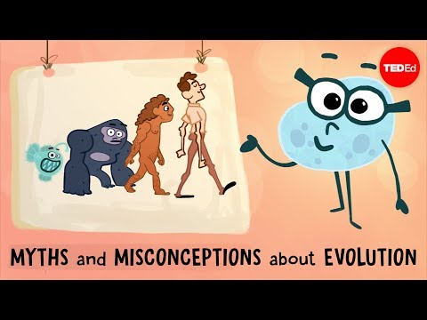 Myths and misconceptions about evolution: A TED-Ed lesson about the subtleties