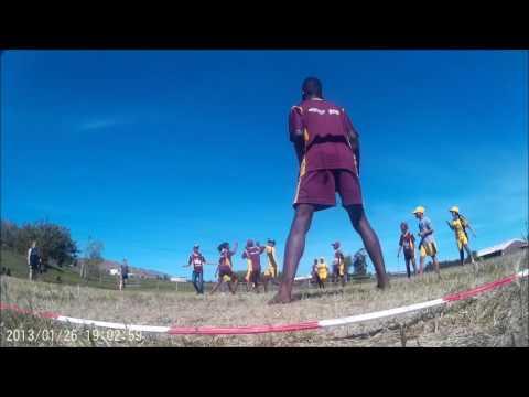 PLAY HANDBALL at SAYLN Sheba Bokamoso Diversity Camp 2016 - Handball is fun Part 1