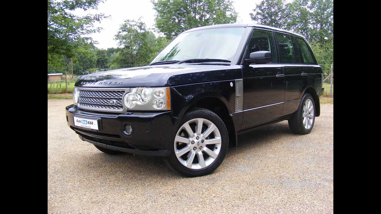 2005 Range Rover Supercharged For Sale - YouTube