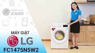 Máy giặt LG Inverter FC1475N5W2 - Sạch bong vết bẩn khó ra | Điện máy XANH