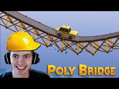 A PONTE QUE BALANÇA!!! - Poly Bridge
