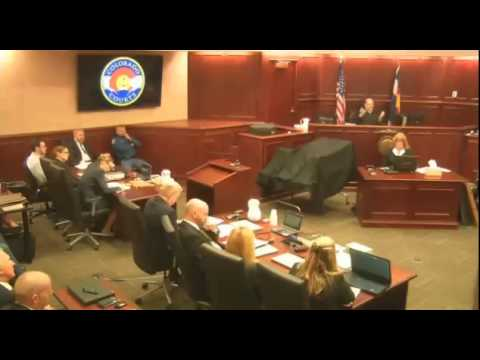 James Holmes Trial - Day 1 - Part 1 (Jury Instructions)
