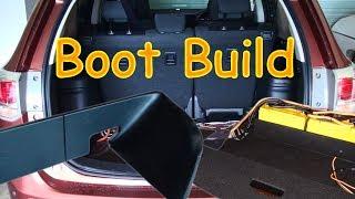 2013 Outlander Custom Boot Build - Batteries & Amp Install For 2 Zv4's