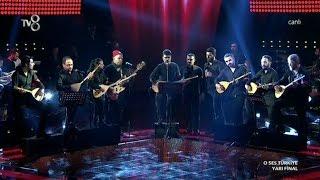 Gökhan ve Takımından Haydar Vs Kalsın Benim Davam - O Ses Türkiye Yarı Final 17 Şubat 2015
