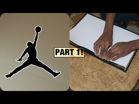 BUILDING A JORDAN THEMED WALL! PT.1