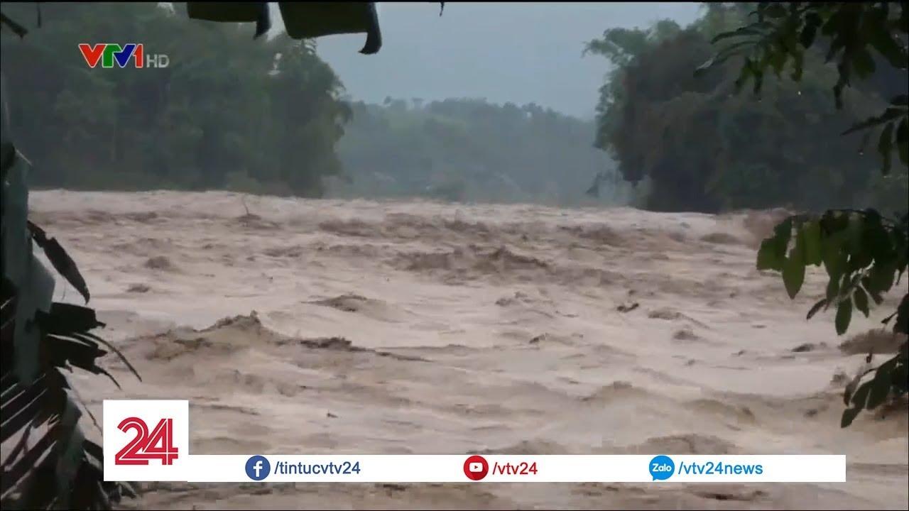 Cập nhật tình hình mưa lũ tại các tỉnh miền Bắc và Bắc miền Trung - Tin Tức VTV24