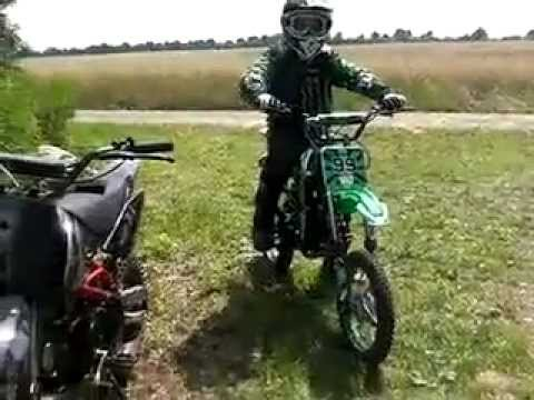 dirt bike orion agb 37 ares bfd 125 ccm youtube. Black Bedroom Furniture Sets. Home Design Ideas