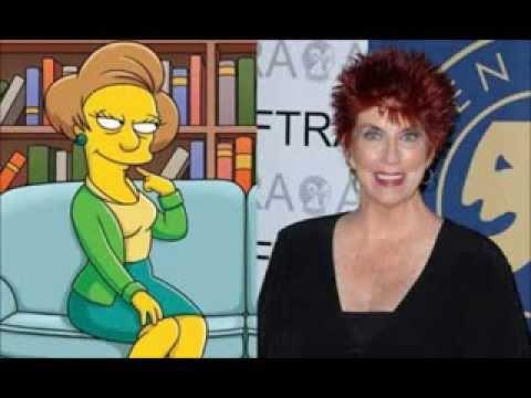 en honor y homenaje a Marcia Wallace voz de la profesora Edna Krabappel en Los Simpson