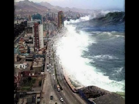 The Most Terrifying Tsunami Video Ever - YouTube