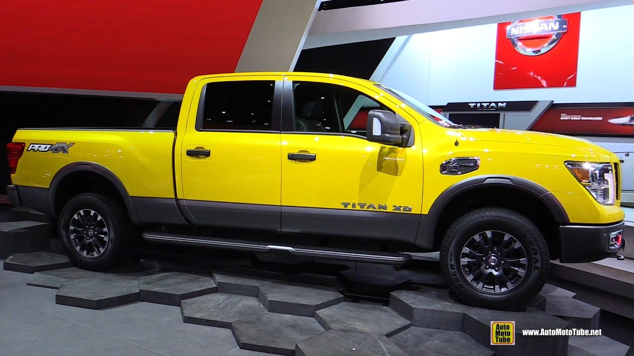 2016 nissan titan xd pro 4x nv1500 diesel exterior. Black Bedroom Furniture Sets. Home Design Ideas