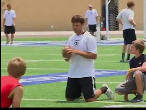 Graham Harrell Passing Camp Story