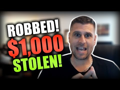 I Got Robbed! Live Footage Of Thief Stealing $1,000 Cash From My Cell Phone Repair Store