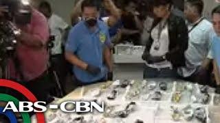 TV Patrol: Shabu mula Mexico, nasabat sa NAIA; 4 arestado