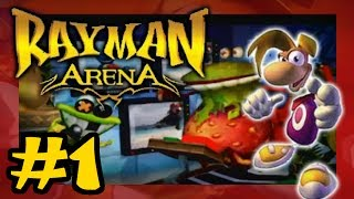 Rayman Arena playthrough [Part 1: Obstacle Race]