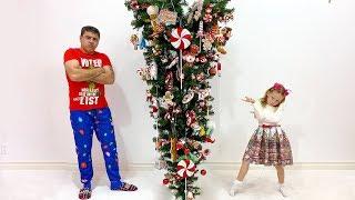Stacy e pai estão se preparando para o Ano Novo