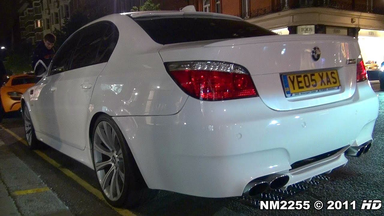 Bmw M5 E60 With Eisenmann Race Exhaust Insane Sound