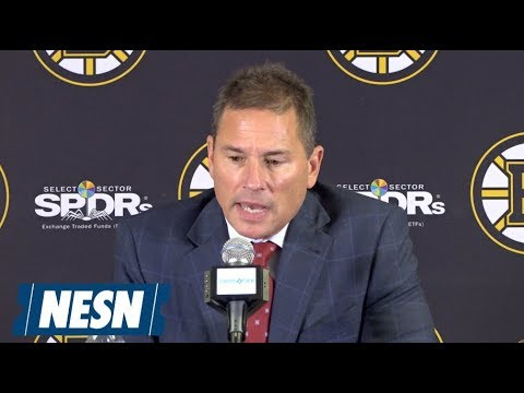Bruce Cassidy Bruins vs. Oilers October 11 Postgame Press Conference