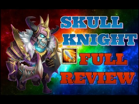 Castle Clash Skull Knight Full Review!