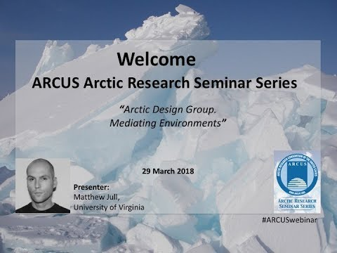 Matthew Jull, Arctic Design Group - 29 March 2018