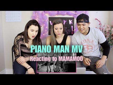 Piano Man by MAMAMOO - M/V Reaction