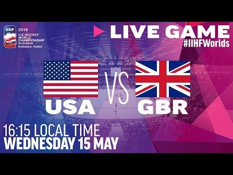 USA vs. Great Britain | Full Game | 2019 IIHF Ice Hockey World Championship