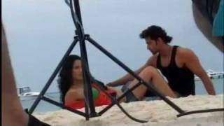 Repeat youtube video Hrithik Roshan and Barbara Mori hot photoshoot