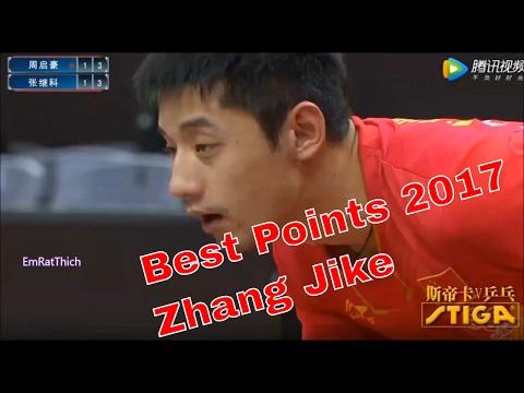 Generate Best Points of Zhang Jike 2017 Pics