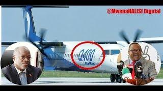Tundu Lissu Afunguka Jinsi Ndege Ya Bombardier Q400 Ilivyokamatwa Canada
