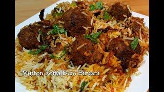 Mutton Kofta Dum Biryani Recipe - Try this unique & delicious Kofta Dum Biryani this Eid