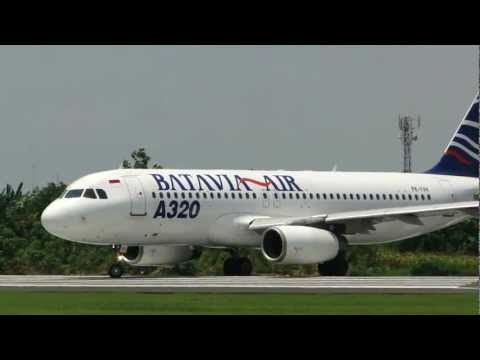 Batavia Air A320 Takeoff | Ahmad Yani Airport Semarang
