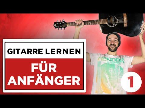 Gitarre lernen für Anfänger: Akkorde SOFORT spielen OHNE UMZUGREIFEN!