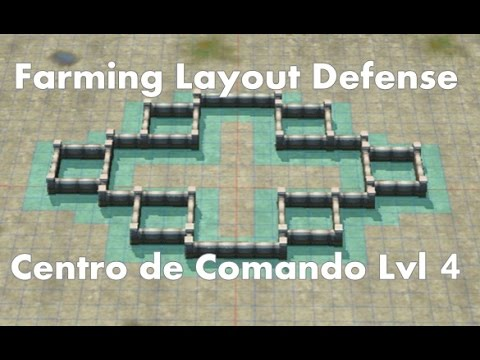 Call of Duty: Heroes - Command Center Level 4 - Farming Base ...