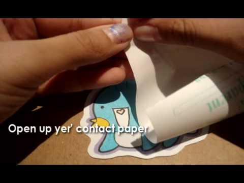 How to Make a Sticker/Color with Copic Sketch Markers