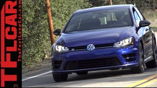 2015 VW Golf R TFL4K Review: One Powerful AWD Hot Hatch to Rule Them All?